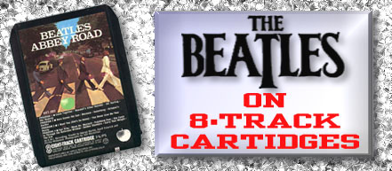 The Solo Beatles on Eight Track Tape