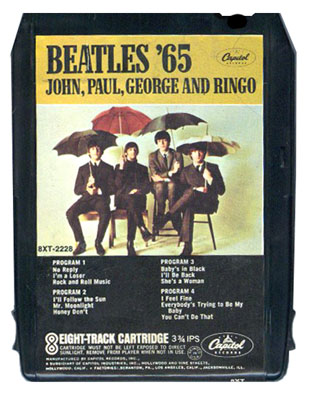 meet the beatles 8 track