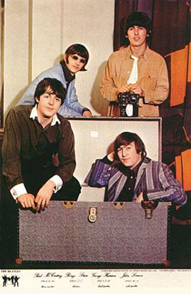 The Beatles Alternate Trunk Photo