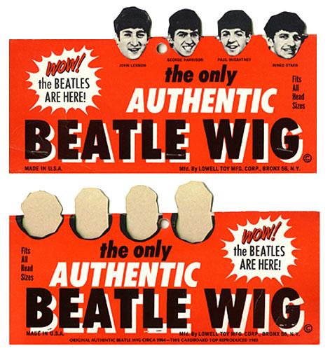 Beatles Style Wigs