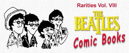 Beatles Comic Books - menu