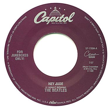 Beatles Jukebox 45 S