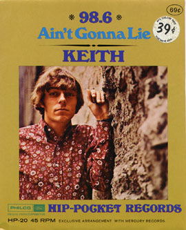 Keith - Ain't Gonna Lie / It Started All Over Again