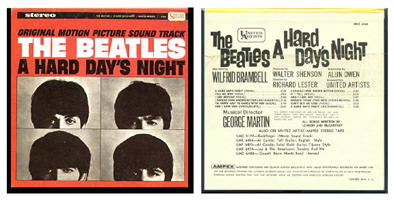 c1f5ec3a8 ... including A Hard Day's Night, The Beatles (