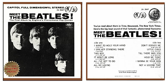 meet the beatles alternate cover
