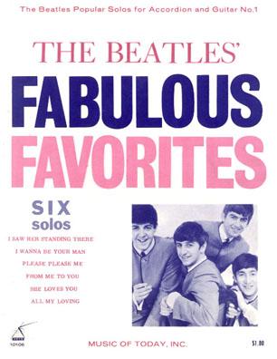 Beatles sheet music songbooks