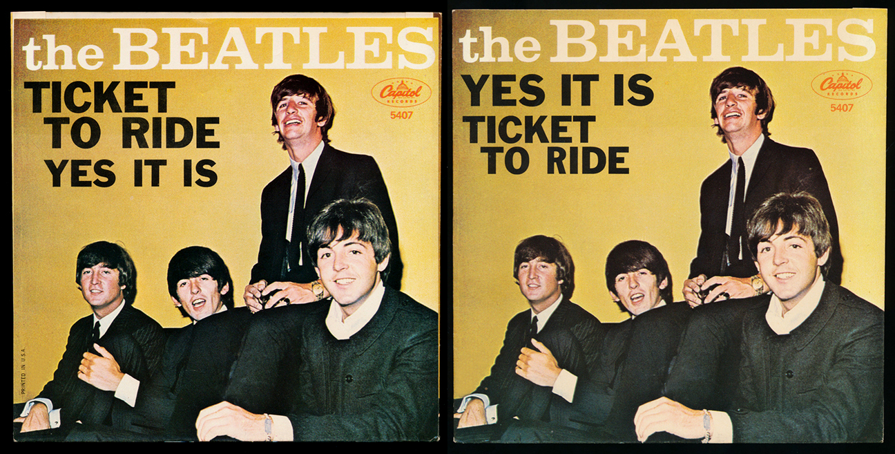 Resultado de imagen para ticket to ride the beatles